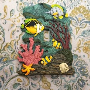 Tropical Fish Light Switch plate Cover
